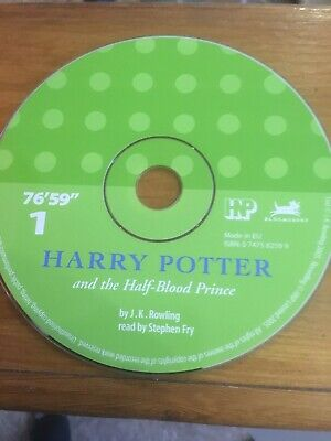 Harry Potter And The Half Blood Prince Audio Book CD 1 Read By Stephen Fry