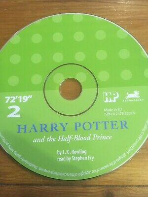 Harry Potter And The Half Blood Prince Audio Book CD 2 Read By Stephen Fry