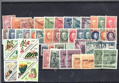 Albania 51pc old stamps collection