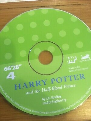 Harry Potter And The Half Blood Prince Audio Book CD 4 Read By Stephen Fry