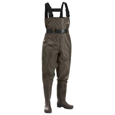 Fishing Chest Waders For Men 7/ Women 9 With BootFoot Hunting Waterproof Work