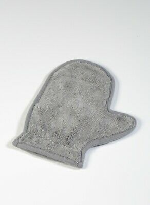 Wheel detailing wash mitt with thumb insert, super soft microfibre. 3 pack.