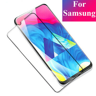 For Samsung Galaxy A50 A30 9H Full Cover Tempered Glass Screen Protector Film