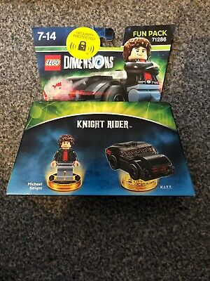 LEGO Dimensions MICHAEL KNIGHT (71286) Fun Pack Brand New & Sealed Knight Rider