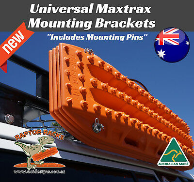Universal Mounting Brackets For Maxtrax. Side Mounts