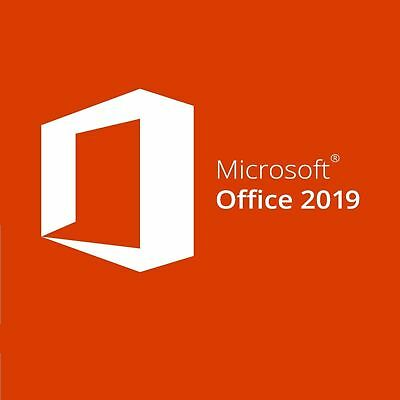 Microsoft Office 2019 Professional Plus 32/64 Bit Codice Originale Esd Licenza
