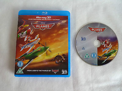 Disney Pixar Planes 3D Blu Ray Disc and Case Only Free Post Family Kids Night in