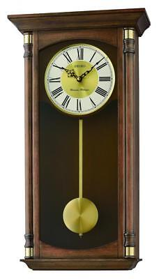 Seiko Regulator Style Wall Clock QXH069B RRP £275.00 Our Price £219.95