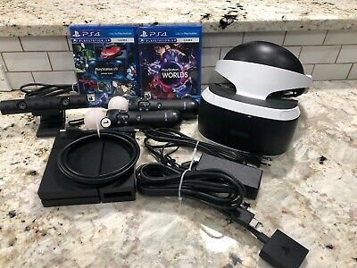 Sony PlayStation VR PSVR Bundle with Controllers