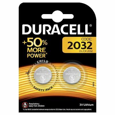 Twin Pack Duracell Cr2032 Lithium Battery 3V Button/coin Cell *48 Hour Sale*