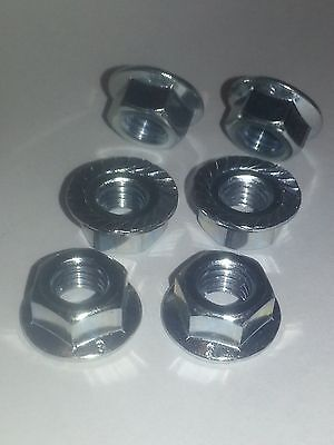 Honda VFR800 fi 98 99 2000 01 02 stainless steel rear sprocket nuts x6 ALL YEARS