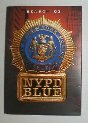NYPD Blue: The Complete Third Season 3 / Three with Dennis Franz - dvd set