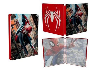 Spider-Man Steel Book Case Only (No Game) Collector's Limited Edition BRAND NEW