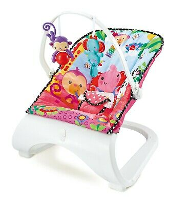 Stylish Ella Baby Rocker Animal Bouncer Chair With Soothing Music & Vibrations
