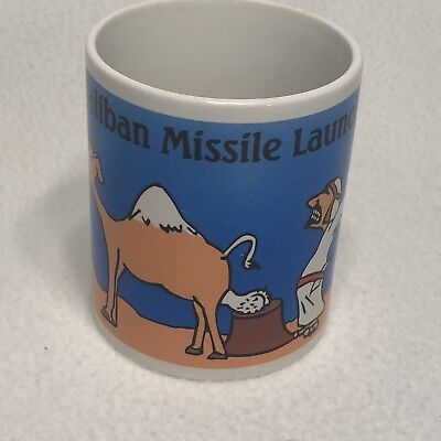 Taliban Missile Launcher Coffee Mug Ceramic Enduring Freedom War
