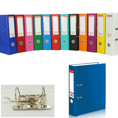 A4 Metal Ring Binder Document Folder Clipbar Lever Arch File - VAT Invoice