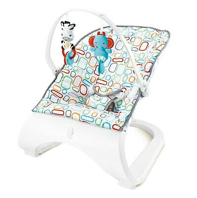 Stylish Vogue Baby Rocker Modern Bouncer Chair With Music & Vibrations