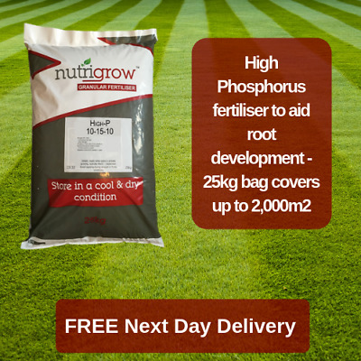 Nutrigrow 10-15-10 High P Fertiliser Help Roots Develop 25Kg