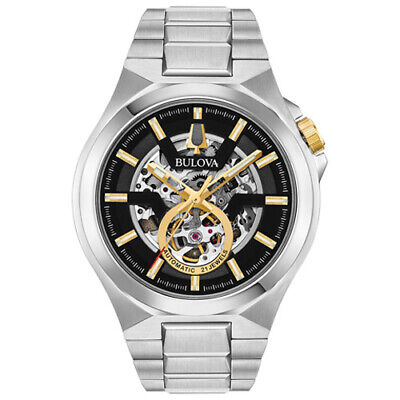 Bulova 98A224 Men's Maquina Automatic Stainless Steel 46mm Watch