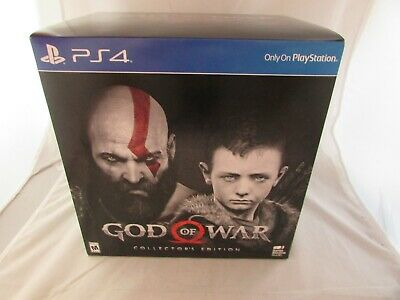 God of War Collector's Edition (PlayStation 4, PS 4, 2018) NEW, SEALED