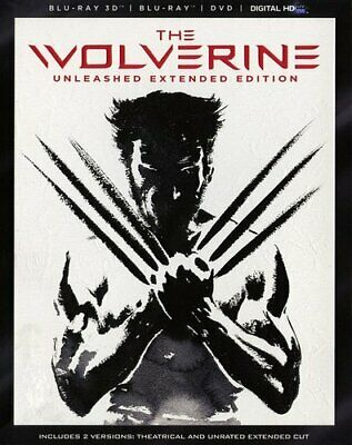 The Wolverine (2013 Hugh Jackman) (4 Disc, With Blu-ray + DVD) 3D BLU-RAY NEW