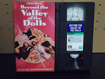 Beyond The Valley Of The Dolls VHS Russ Meyer 1993 Fox RE Sexy Cult Bosomania
