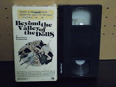 Beyond The Valley Of The Dolls VHS Russ Meyer 1980 Magnetic Sexy Cult Original