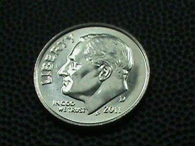 UNITED STATES  10 Cents  2011 - D  UNCIRCULATED   $ 2.99 maximum shipping in USA