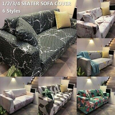 Sofa Slipcover Stretch Couch Cover Anti-Slip Elastic Home Furniture Protector