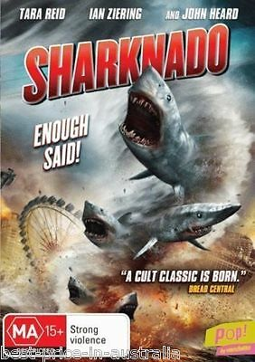 Sharknado DVD FAVOURITE TV MOVIE CULT CINEMA CLASSIC KILLER SHARKS BRAND NEW R4