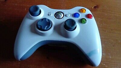 Genuine Official Wireless Microsoft XBOX 360 Controller Control Pad white