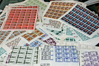 Vatican City - Large Colln Of 150+ Full Sheets/part Sheets - All Mnh