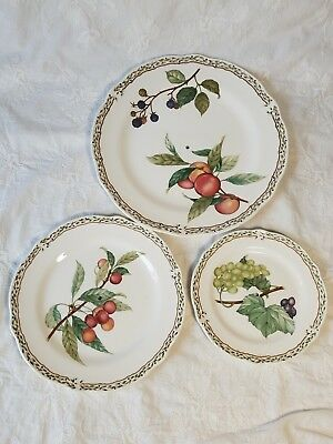 Noritake Royal ORCHARD 9416 three (3) tiered serving tray. PLATTERS ONLY.