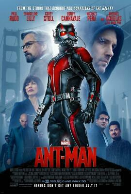 Ant-Man Movie Poster Print Wall Art 8x10 11x17 16x20 22x28 24x36 27x40 Marvel