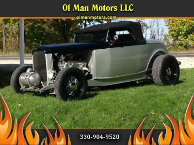 1932 Other Street Rod, Hot Rod, Classic Car 1932 Ford Roadster Street Rod, Hot Rod, Classic Car 360 Miles Silver  502 Automa