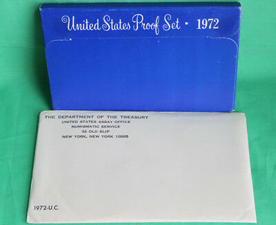 1972 Proof and Uncirculated Annual US Mint Coin Sets PDS 16 Coins
