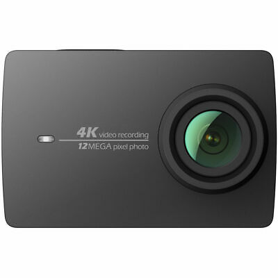 YI 4K Action Camera schwarz 4K/30fps 12MP Touchscreen,  WiFi, App-Steuerung