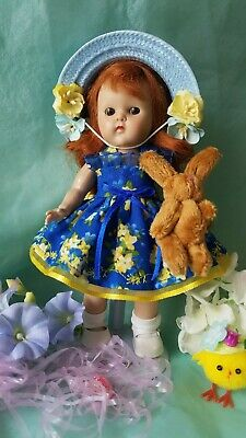 vintage reproduction Ginny Muffie Spring outfit 8 inch 7 inch doll clothes
