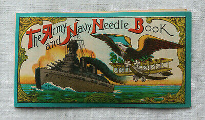 Sehr altes Nadelbuch * The Army and Navy *