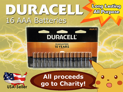Duracell -  AAA Alkaline Batteries - CopperTop - Long Lasting - Free Shipping!