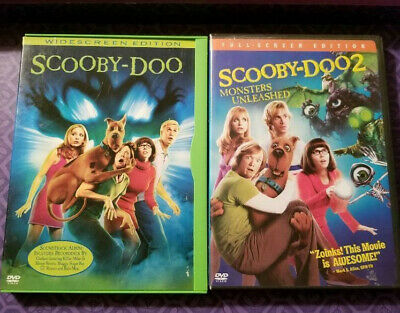 Scooby Doo Widescreen Edition,Scooby Doo 2 Monsters Unleashed Full Screen