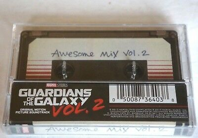 GUARDIANS OF THE GALAXY Awesome Mix Vol. 2 NEW Factory Sealed Cassette Unopened