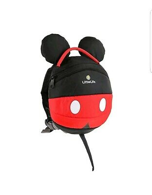 little life backpack Mickey Mouse BNWT