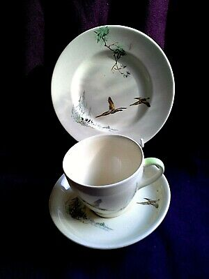 ROYAL DOULTON COPPICE TRIO being cup saucer and plate ( my box 16/17)