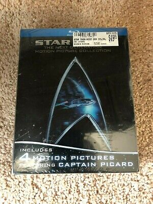 Star Trek: The Next Generation Motion Picture Collection BRAND NEW Blu-ray