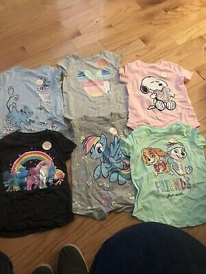 Lot Of Brand New Toddler Tees 4t From Kohls