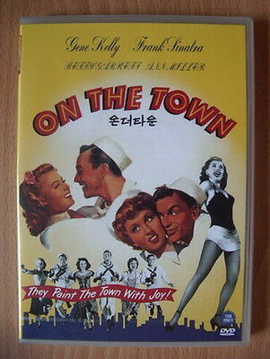 On The Town 1949 Movie Poster Canvas Wall Art Print Gene Kelly Frank Sinatra 40s