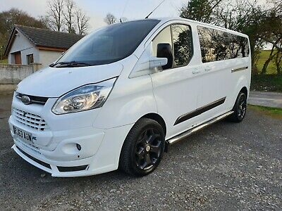 2013 63 Ford Transit Custom 330 LWB bodykit RS 9 seater ST alloys 180bhp! NR
