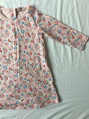 Cath Kidston Kids Baby Dress 6-12 Months Pink Fairy Floral