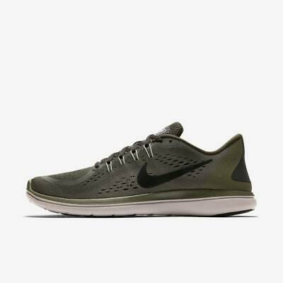 c315d8af7de Nike Flex 2017 Rn Mens Running Shoe Sequoia Black-Olive Size 10 898457-